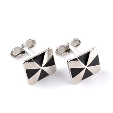 hot deal buy fashion square cufflinks for men classic meter for wedding party copper shirts cuff button cuff links for mens jewelry