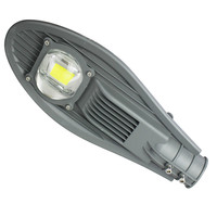 LAIDEYI Black LED Street Lights 30W 50W Waterproof Road Highway Garden Park Street Light 85 265V LED Lamp Outdoor Lighting