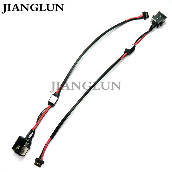 JIANGLUN 5X New DC Power Jack With Cable Harness For e