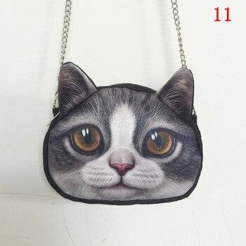 Cat Animal printing women shoulder bags girl women messenger bags crossbody bags for women purses and handbags ladies hand bag