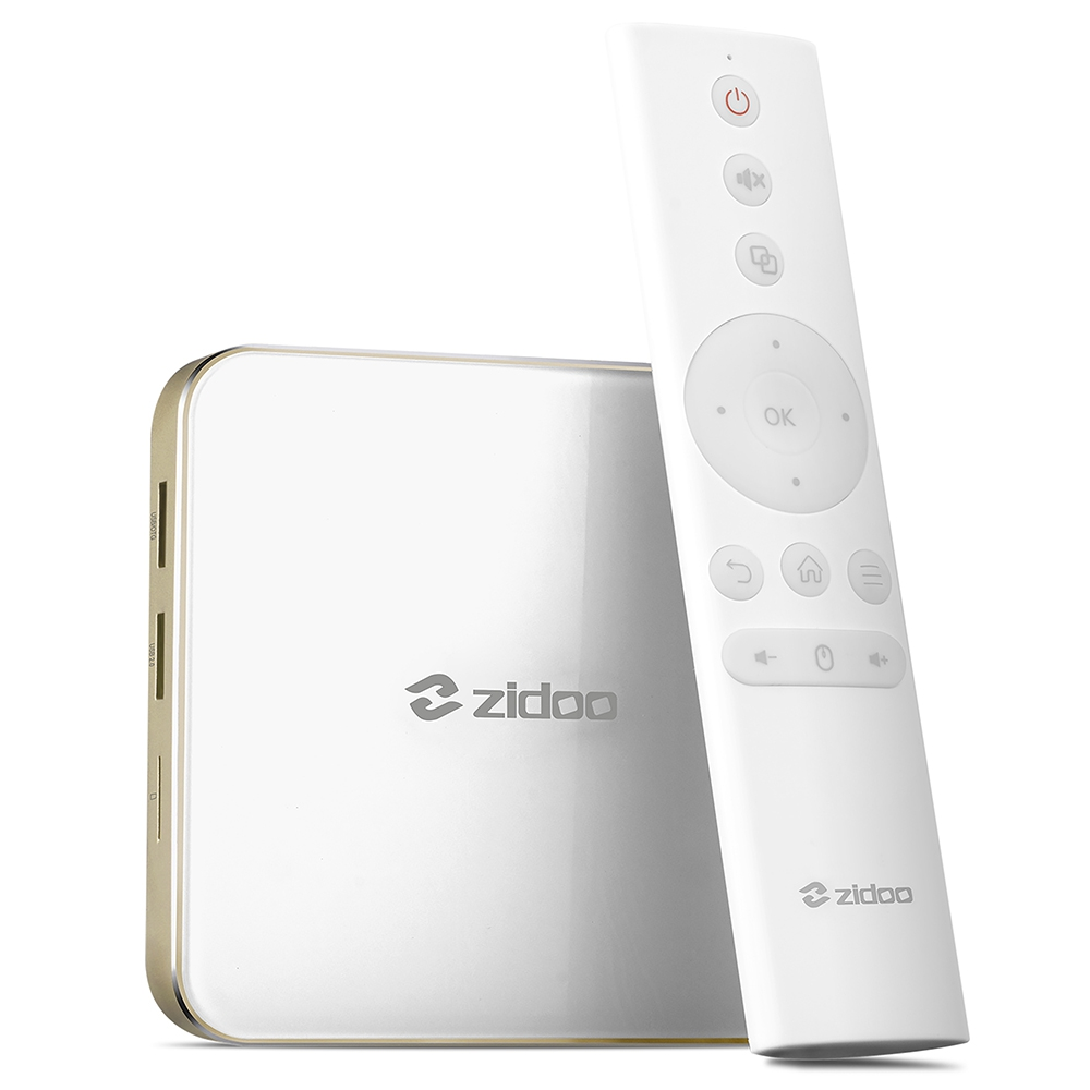 ZIDOO H6 PRO Android Nougat 4K 10Bit HDR TV Box Allwinner H6 DDR4 2GB eMMC 16GB ac WIFI 1000M LAN Dolby Digital DTS-HD zidoo h6 pro iptv tv box os android 7 0 2gb 16g wifi bluetooth hdmi per install kodi add on live tv series movie music