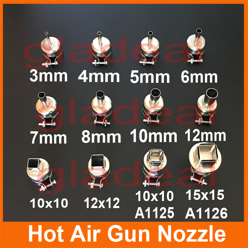 850 Heating Station Hot Air Gun Nozzles For Chip IC PCB BGA Repair