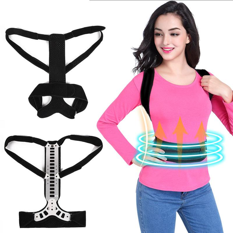 Adjustable Posture Corrector Back Support Corrector Lumbar Brace Shoulder Band Belt Health Care flower stitch 3700l 5021l round stitch flower presser foot for brother singer janome pfaff viking sewing machine
