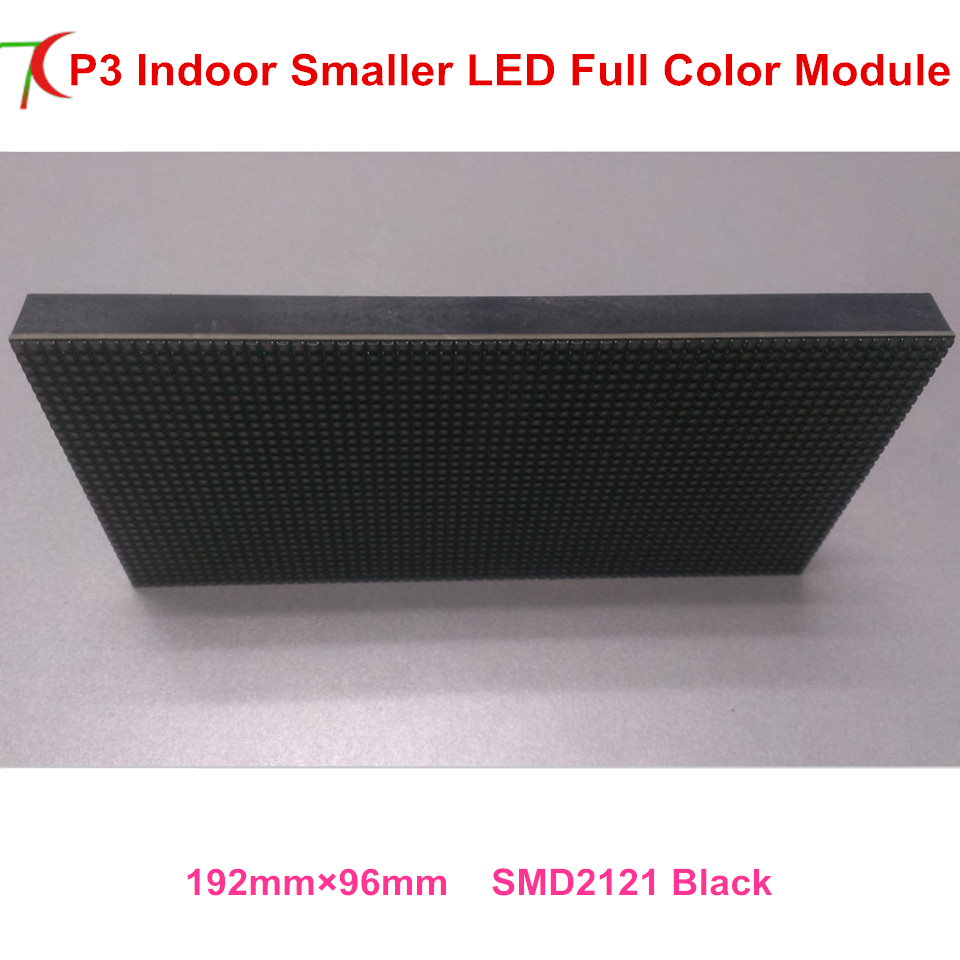 Manufacturer Sales P3 Indoor 192*96mm 16scan Full Color Led Screen Board Widely Use For Led Video Wall Led Display