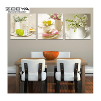 ZOOYA Diamond Embroidery 5D DIY Diamond Painting Flower Fruit Cup 3PCS Diamond Painting Cross Stitch Rhinestone