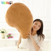 YunNasi 1pc 110cm Simulation Creative Chicken Leg Plush Toys Stuffed Dolls Soft Pillow Gifts for Girls Baby Kids Toys Squishy