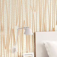 Modern Abstract Vertical Strip 3D Wallpaper for Living Room Walls Suede Embossed Wallpaper Roll Dining Room Striped Wallpapers