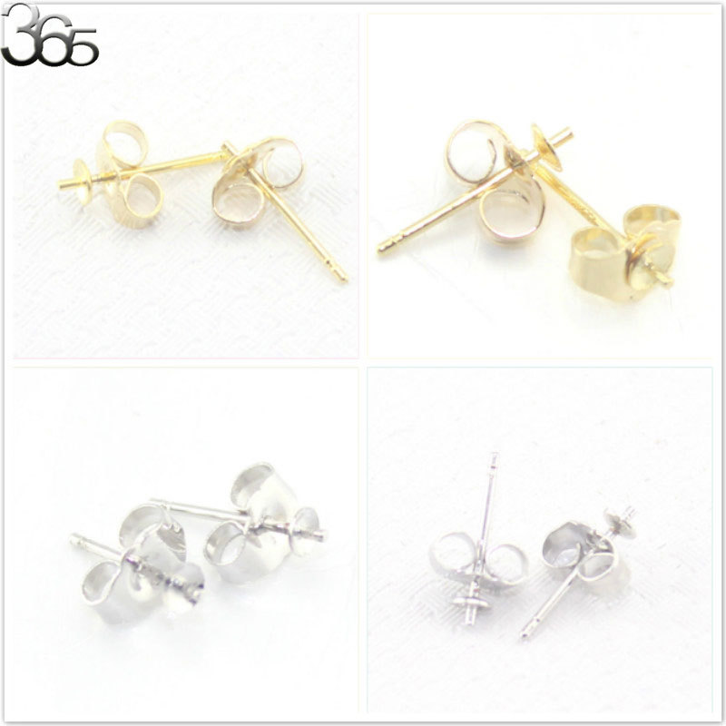 Earring Supplies For Jewelry Making Of Free Fast Shipping Wholesale 2pcs Lot 14k Gold Filled Ear