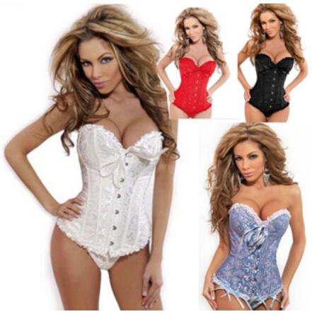 Envío gratis despacho de encaje up verde floral brocade corset sml XL 2XL 3XL 4XL 5XL 6XL 7XL 8XL