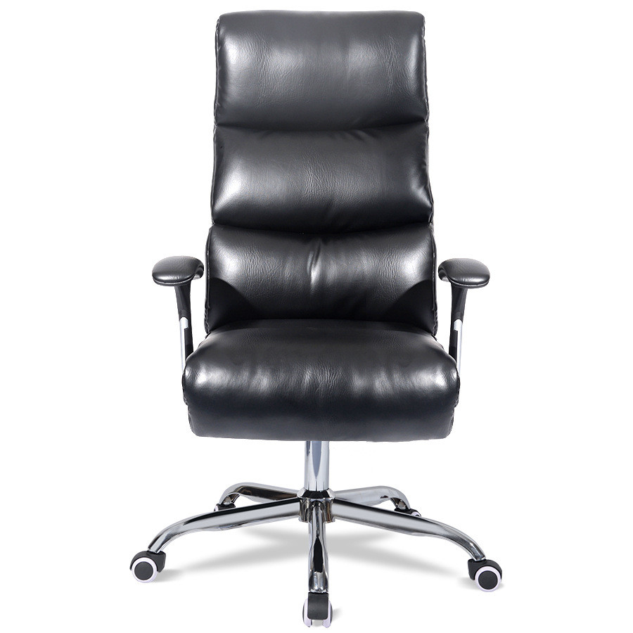 Chair computer chair simple - Simple And Comfortable Household Computer Chair Chair Headrest Office Chair Backrest Chair Can Turn The Boss High Lying
