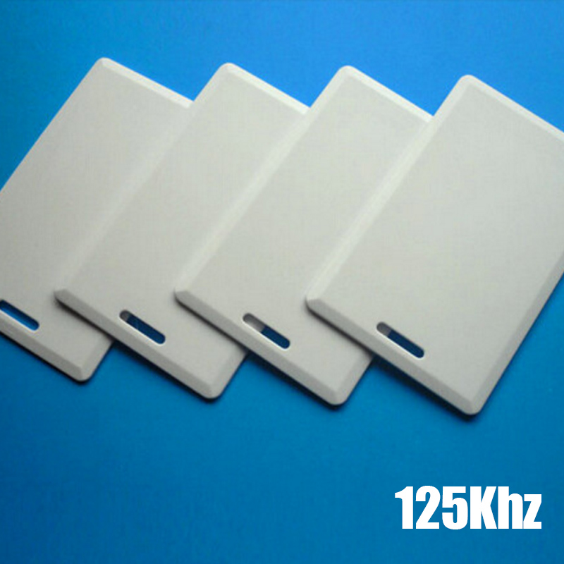 Generous 5/10pcs 125khz Rfid T5577 Thickening Smart Card Rewritable Blank Id Pvc Card For Access Control System Access Control