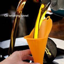 Автозаправка длинная Воронка масло добавка мотоцикл сельскохозяйственное