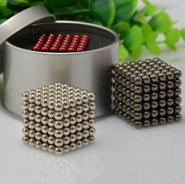 Genuine 216pcs 5mm Magic Magnetic Ball,Leisure Educational toys for Adults and Children,Decompression toys, gifts,Free Shipping