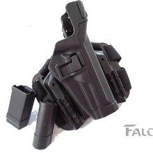 LV3 style for Beretta 92 / 96 M9 military waist holster tactical gun leg
