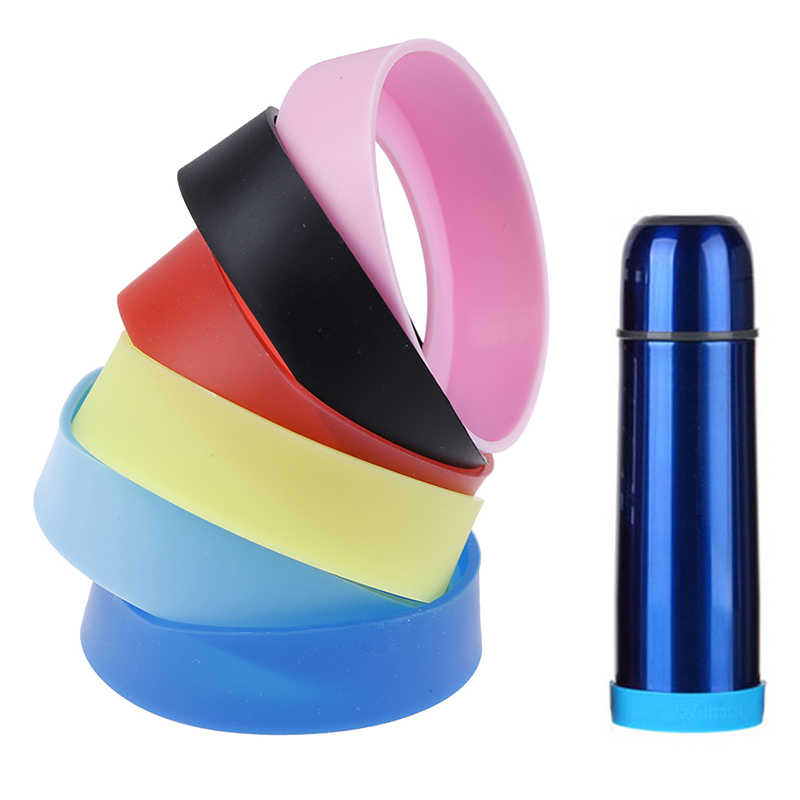 Tasse à eau 70mm manchon en silicone tasse à vide gaine spéciale anneau inférieur résistant à l'usure couvercle inférieur incassable
