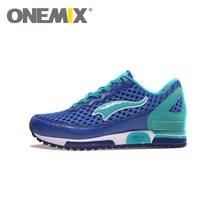 Original ONEMIX Cheap Running Shoes for Men Honeycomb Mesh Fabric Zapatillas Mujer Deportivas Athletic Sneakers Free Ship