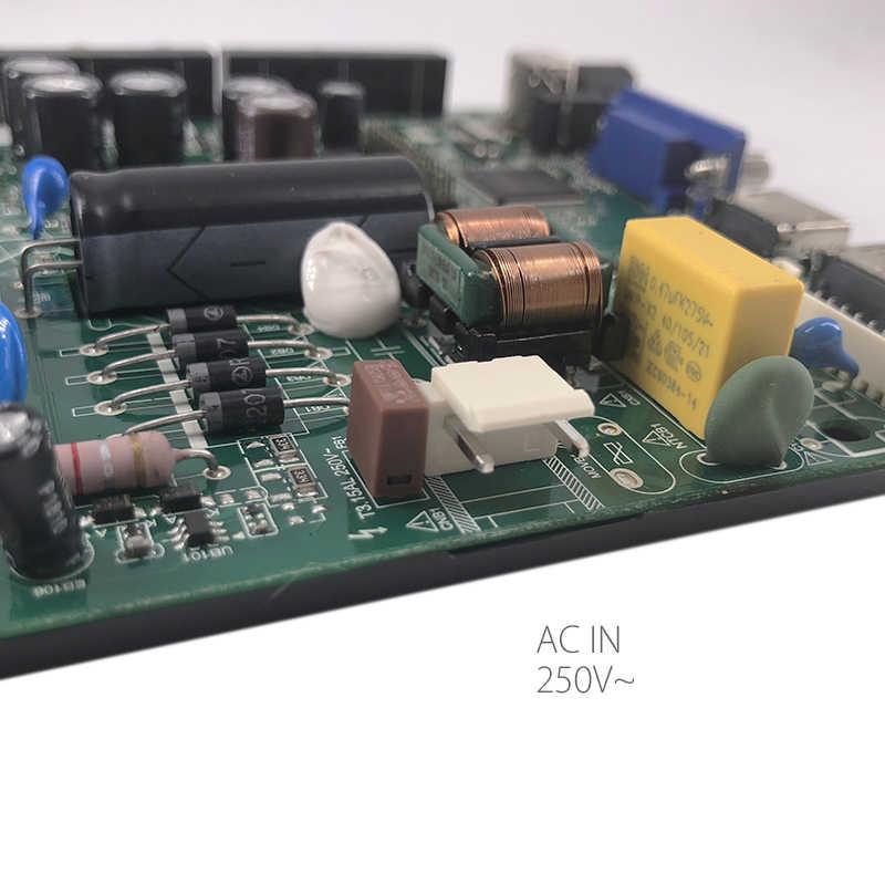 TP RD8503.PB801 HD 液晶 LED ドライバボードの LED テレビリモコンコントローラデュアル HDMI/AV/USB で電源 Ac で