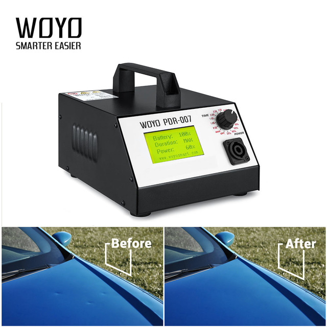 WOYO PDR-007 Auto Car Body Repair tool Kits Dent Removal Kits Sheet Metal Tools Repair HOTBOX PDR tools