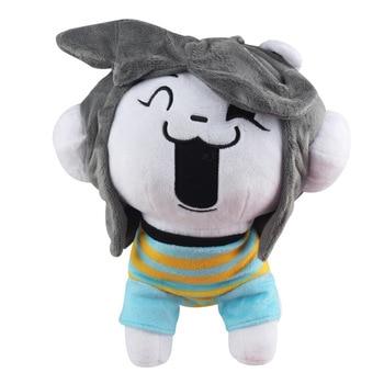 1 шт. 26 см Undertale Temmie Плюшевые игрушки Куклы Kawaii Undertale собака Temmie плюшевые игрушки мягкие животные игрушки для детей