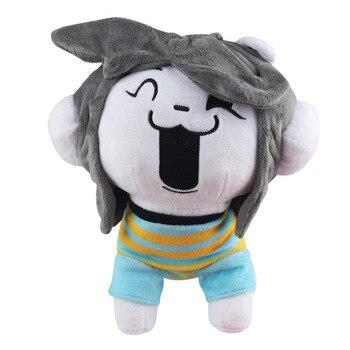 1 шт. 26 см Undertale Temmie плюшевые игрушки кукла Kawaii Undertale Dog Temmie плюшевые игрушки мягкие животные игрушки для детей
