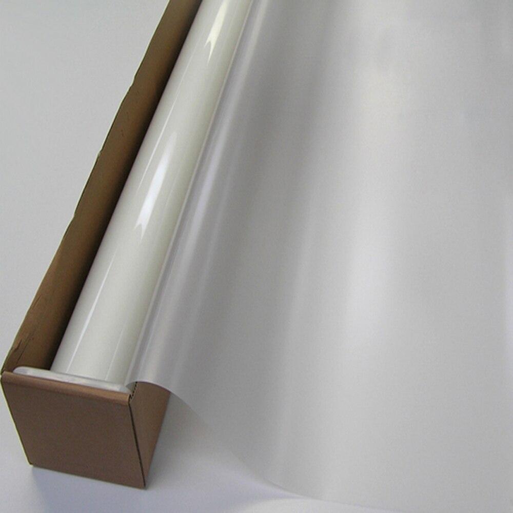 HOHOFILM 8 pièces 130 cm x 80 cm blanc givré fenêtre décor maison bureau fenêtre porte Film intimité gel gravé verre autocollant