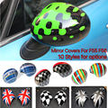 2014~2015 Mini Cooper F55 F56 Rearview Mirror covers Union Jack styles high quality auto accessories