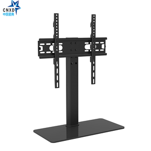 """Image 5 - Universal TV Table Monitor Base Stand Stable and Safety TV Floor Stand for Plasma LED LCD TV 32"""" to 55"""" up to 88lbs"""