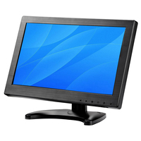 11 6 Inch TFT LCD HD Monitors 1366x768 Resolution HDMI VGA BNC AV Input For Computer