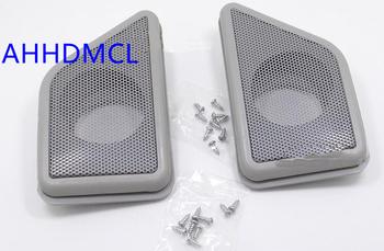 Głośnik samochodowy montaż skrzynek głośnikowych wspornik montażowy do Alphard 2012 tanie i dobre opinie AHHDMCL 0 45kg Car tweeter refitting speaker mounts ABS+PC+Metal Szary Beige and Gray color optional