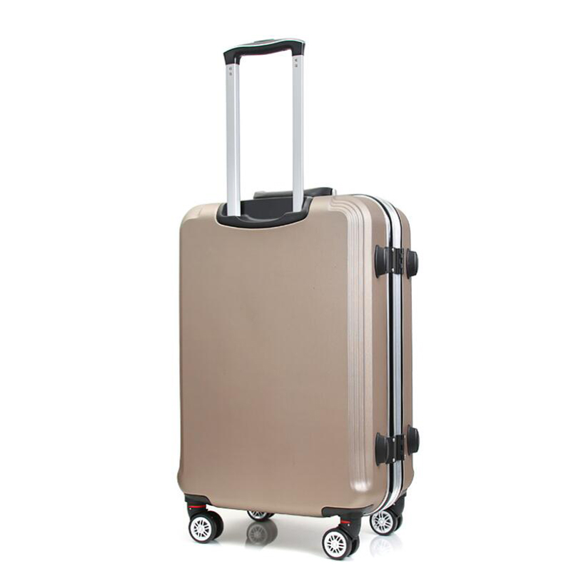 Luggage & Bags Travel Tale 20 24 Inch Abs Pc Kinder Trolly Hardside Spinner Travel Luggage For Trip Rolling Luggage