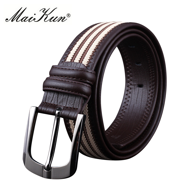Braided Tactical Canvas   Belts   for Men High Quality Leather   Belt   Alloy Pin Buckle Male Strap Military Equipment