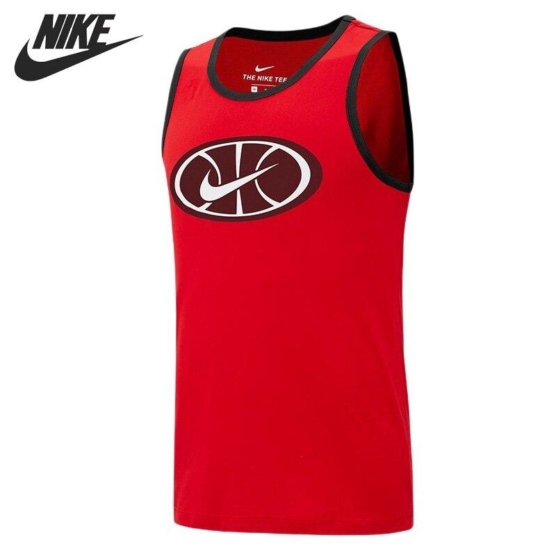 Original New Arrival NIKE AS M NK DRY TANK BBALL 1 Men's T-shirts Sleeveless Sportswear