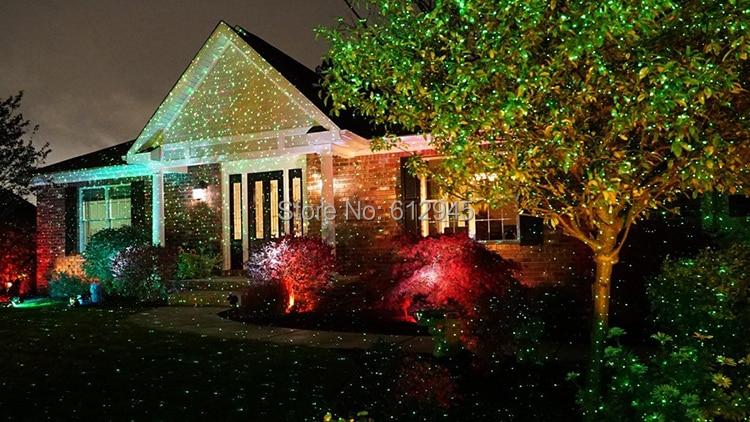 Illuminazione Esterna Natale : Impermeabile illuminazione esterna paesaggio effetto proiettore