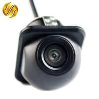 Mini Waterproof Car Parking Assistance Reversing Back Rear View Camera HD CCD Wire Car Rear View