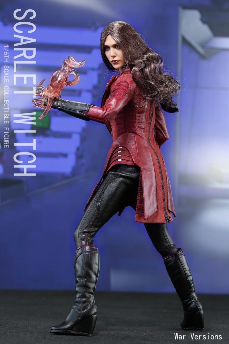 1/6 Avengers Age of Ultron  Scarlet Witch Action Figure Battle Version Full Set Figures Collection Model Toys xinduplan marvel shield iron man avengers age of ultron mk45 limited edition human face movable action figure 30cm model 0778
