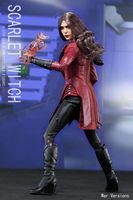 1/6 Avengers Age of Ultron Scarlet Witch Action Figure Battle Version Full Set Figures Collection Model Toys