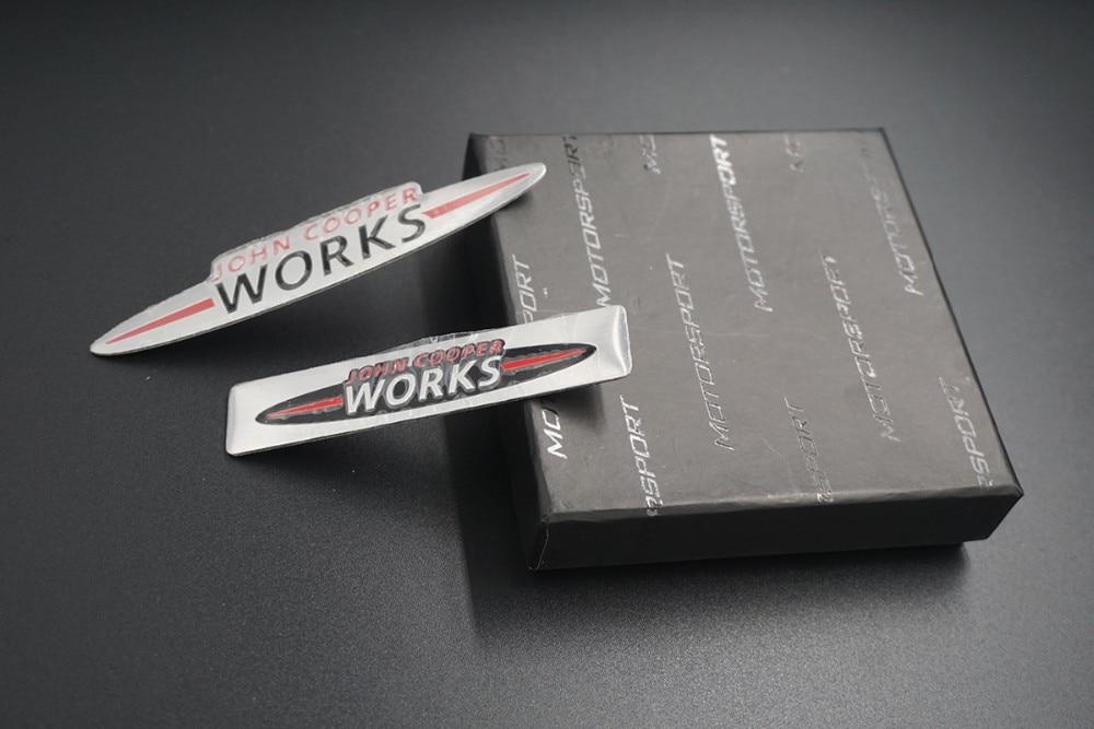 Mini JCW Stickers Emblems Car Body Stickers Dec for Mini Cooper Countryman JCW F56 R56 R60 R53 Accessories Car-styling (10)