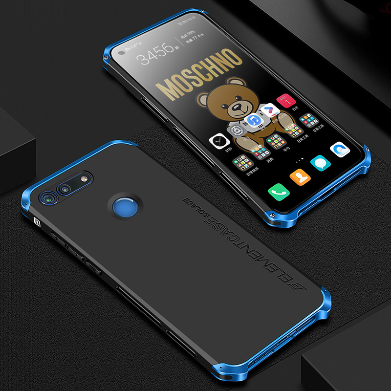 Shockproof Element Metal Case For Huawei Honor View 20 Cases V20 Hard Aluminium & Hybrid PC Case Huawei Honor View 20 Back Cover