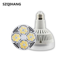 High Quality 40W E27 Par30 LED Bulb lamp fan inside 85-265V Warm White/Cold White LED spot light Par30 E27 led lighting