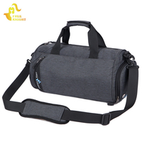 Nylon Outdoor Sport Bag Gym Bag Shoulder Handbag Durable Multifunction Fitness Bags Professional Yoga Duffel Bag