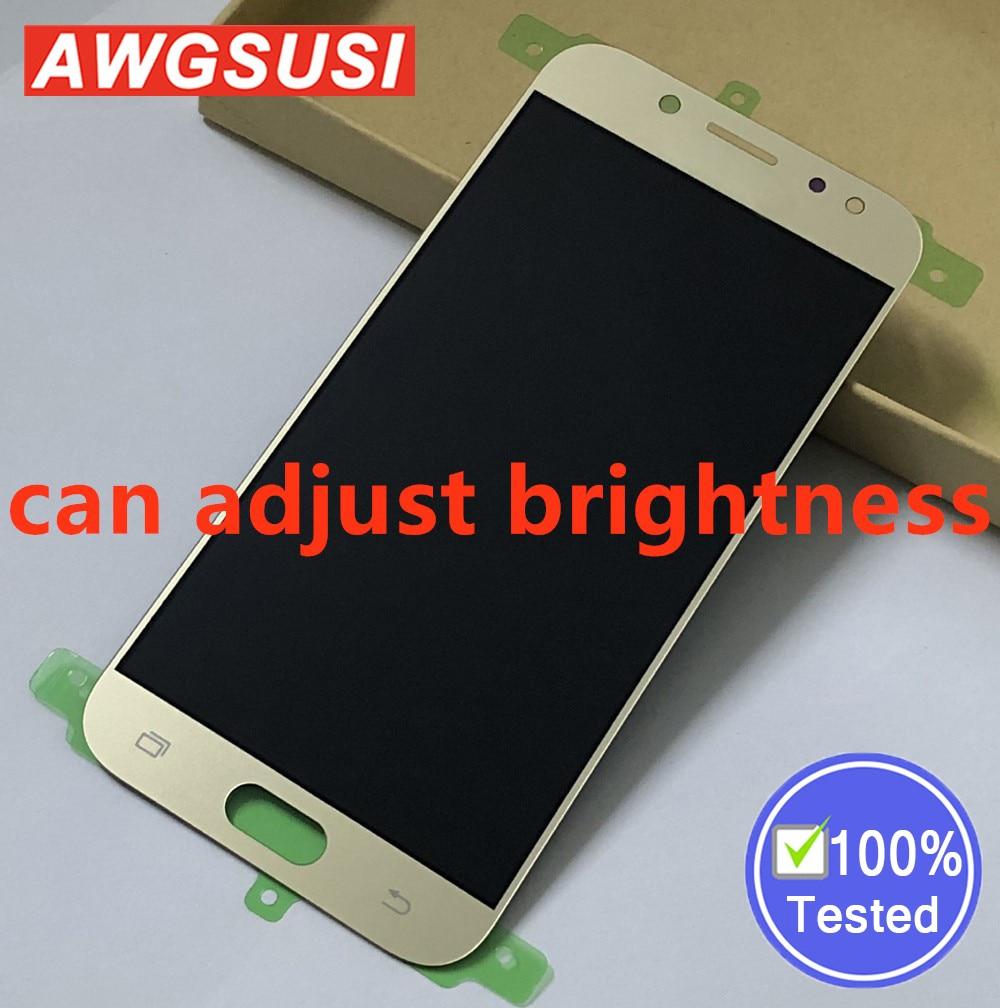 Adjust Gold for SAMSUNG Galaxy J5 2017 J5 Pro 2017 J530 J530F SM-J530F Full LCD Display Panel + Touch Screen Digitizer AssemblyAdjust Gold for SAMSUNG Galaxy J5 2017 J5 Pro 2017 J530 J530F SM-J530F Full LCD Display Panel + Touch Screen Digitizer Assembly