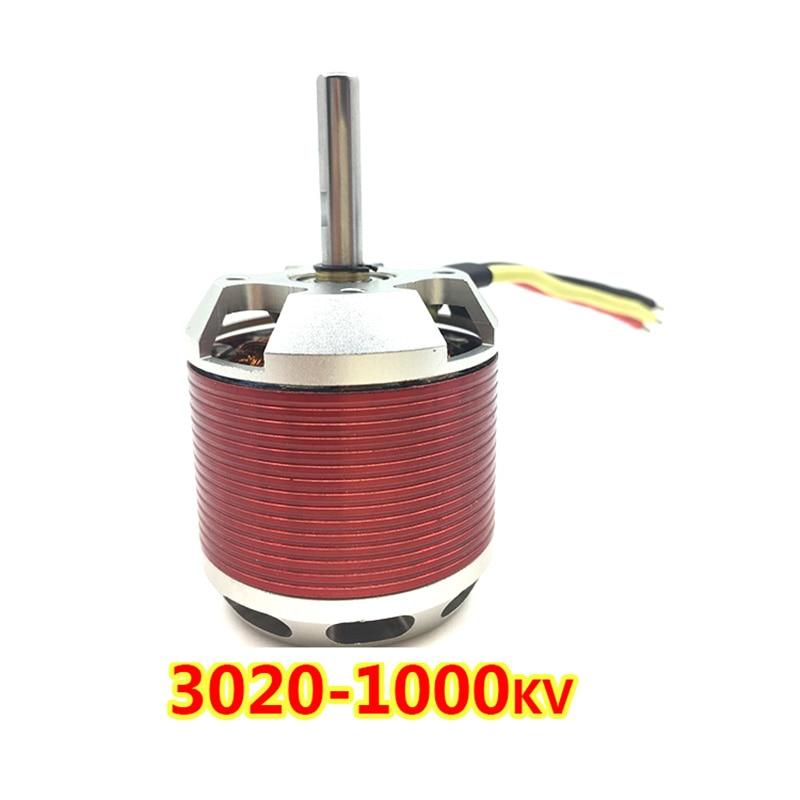 motor sem escova de 380 para o motor sem escova do helicoptero eletrico 3020 1000kv do