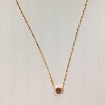 X349 модное простое богемное ожерелье с подвеской в виде сердца и Луны, женское многослойное колье золотого цвета, массивное ожерелье с подвеской - Окраска металла: x271 gold