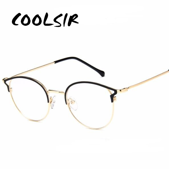 COOLSIR Brand Cat Anti Blue Light Goggles Reading Glasses Protective Glasses Metal Frame Ms Computer Gaming Glasses Men in Women 39 s Sunglasses from Apparel Accessories