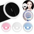 Selfie Portable Classic LED Ring Fill Light Camera Photography for Android Phone iPhone