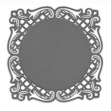Buy Naifumodo Circle Irregular Figure Lace Frame Metal Cutting Dies for Scrapbooking New 2019 Craft Dies Cuts for Card Making Stitch directly from merchant!