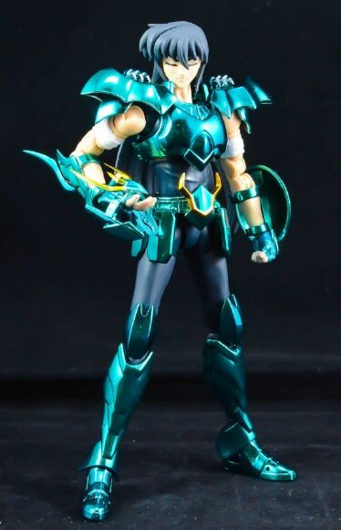 In Stock GREAT TOYS Dragon Draco Shiryu V3 EX Final GT Bronze Metal Armor Action Figure Toy(China)