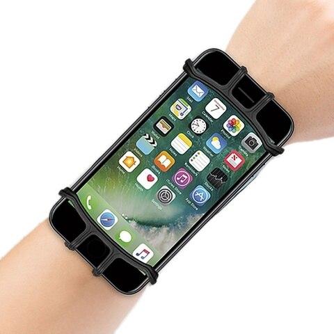 telefone de pulso antebraco pulseira titular rotatable para running ciclismo ginasio jogging apto para telefones