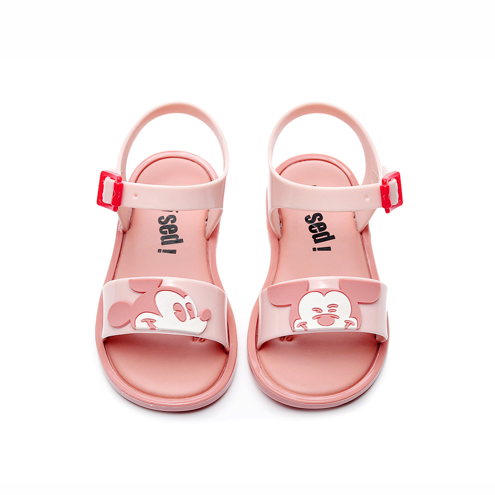 2019 New Mini Melissa  Mickey Jelly Shoes Cartoon Children's Sandals Mickey Head Girls Shoes Minnie Sandals Melissa Kids Shoes