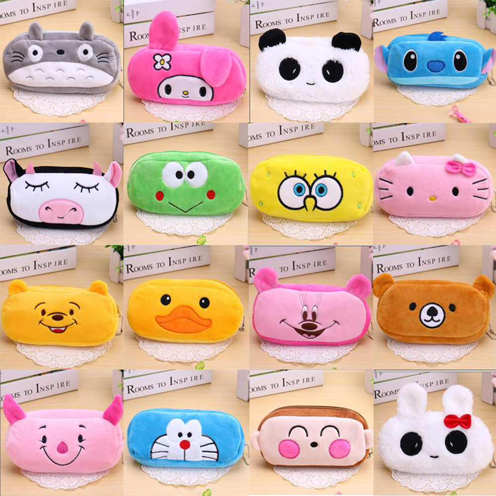 Coin Bag Plush Purse Wrist Coin Wallet Women Pouch Upgrade New Comfortble Soft Popular Cartoon Totoro Cute Wallet For Kids Girls